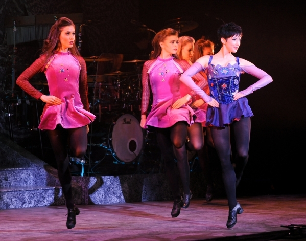 "The ladies step out in ""Countess Cathleen,"" one of the sequences featured in the 20th-anniversary ""Riverdance"" tour, which opens Tuesday at The Smith Center. COURTESY THE SMITH ..."