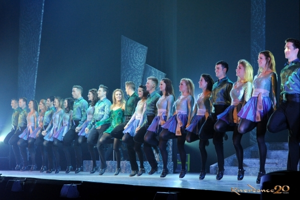 "Precision footwork characterizes every edition of ""Riverdance,"" including the 20th-anniversary tour that begins an eight-performance run Tuesday at The Smith Center. JACK HARTIN/COURTESY ..."