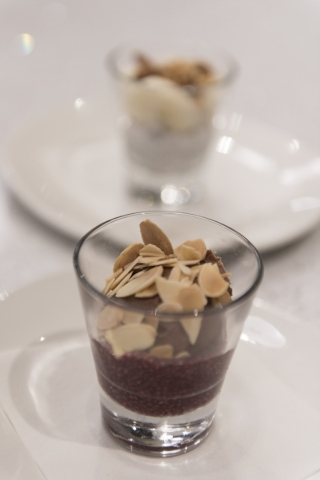 A Chocolate Budino is seen at Lyfe Kitchen at 140 S. Green valley Pkwy. in Henderson on Saturday, Jan. 16, 2016. Jason Ogulnik/Las Vegas Review-Journal