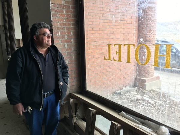 Malek DaVarpanah is an antiques dealer in Goldfield Nevada who is soon going to take over as the keeper of the keys at the old Goldfield Hotel taking the job over from for Genia Ridgway who is don ...