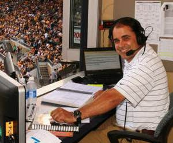 Tim Neverett, who has spent the past seven years as the play-by-play announcer for the Pittsburgh Pirates, called games in Las Vegas for eight years as the Stars transitioned into the 51s. COURTESY