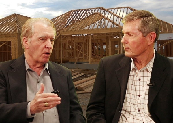 Hal DeKeyser, director of product development for the Review-Journal, interviews Frank Wyatt, 2016 SNHBA president and head of Pinnacle Homes, about the Las Vegas new-home housing market. KEITH DA ...
