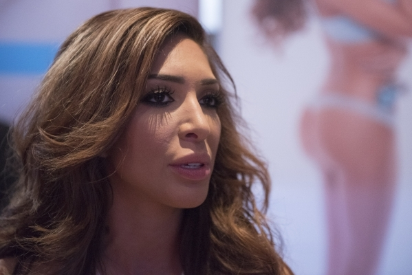 Actress Farrah Abraham speaks with a reporter during the AVN Adult Entertainment Expo 2016 at the Hard Rock Hotel & Casino in Las Vegas Saturday, Jan. 23, 2016. Jason Ogulnik/Las Vegas Review- ...