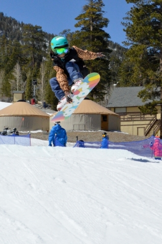Lee Canyon's Lil Air Contest. Courtesy, Lee Canyon