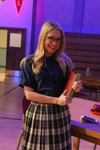 """Las Vegas native Elle McLemore returns to the role of Patty Simcox in Fox's """"Grease: Live"""" on Sunday. She first played the role while a student at Palo Verde High School. (Kevin Es ..."""