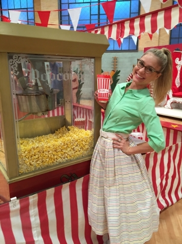 """Las Vegas native Elle McLemore portrays Patty Simcox in Fox's """"Grease: Live."""""""