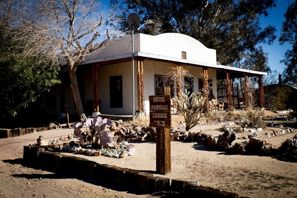The Hotel Nipton, which is really more of a bed and breakfast, is an adobe structure that was built around 1910 and was restored in 1984. It has walls that are a foot thick, helping keep the place ...