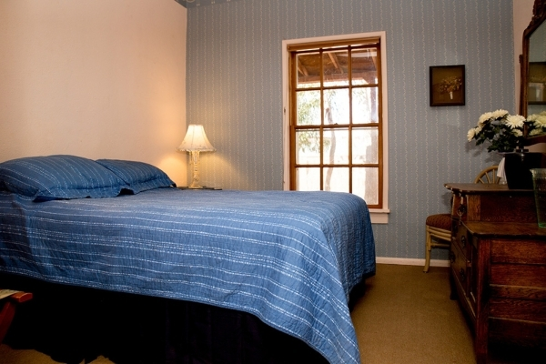 One of five guest rooms at the Nipton Hotel. TONYA HARVEY/REAL ESTATE MILLIONS