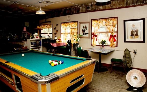 The restaurant has a pool table and bar. TONYA HARVEY/REAL ESTATE MILLIONS