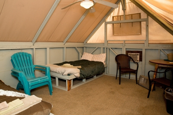 The inside of one of the eco-lodges at the town. TONYA HARVEY/REAL ESTATE MILLIONS
