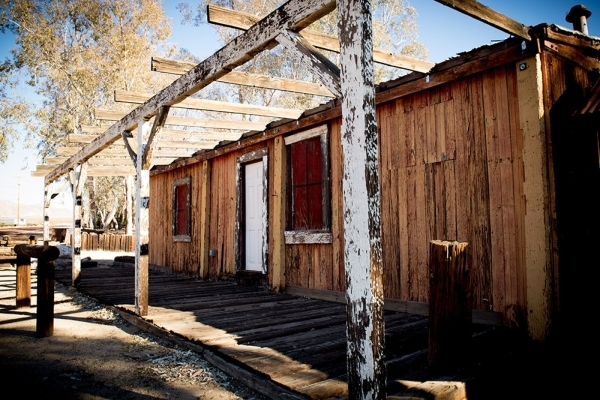 One of the structures on the townsite. TONYA HARVEY/REAL ESTATE MILLIONS