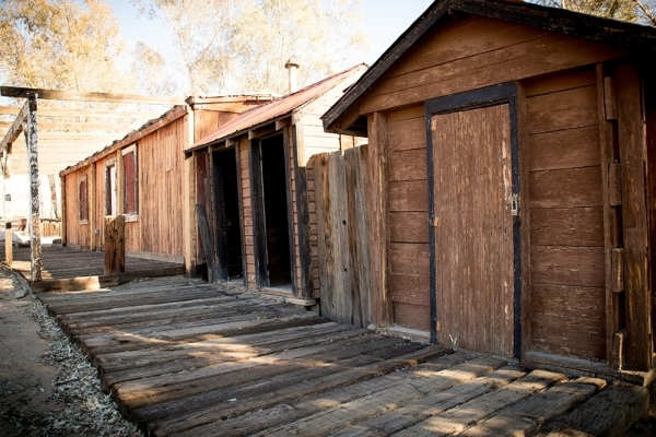 Near the old schoolhouse are wooden sidewalks. TONYA HARVEY/REAL ESTATE MILLIONS