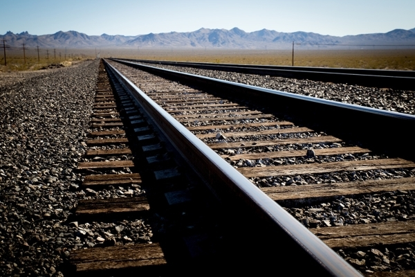 The railroad still comes through several times a day, although any stops in Nipton must be prearranged. TONYA HARVEY/REAL ESTATE MILLIONS