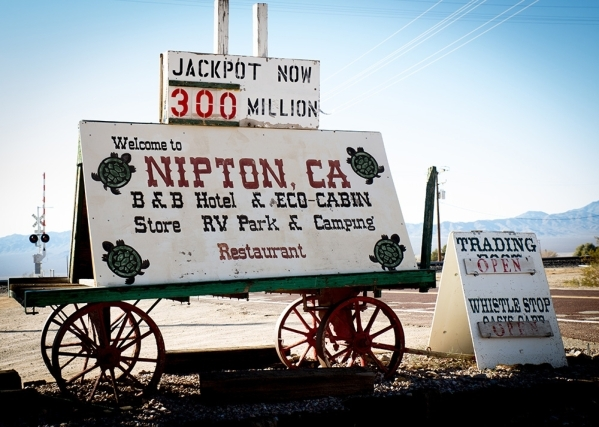 Nipton, California, is an 80-acre village that is listed on the market for $5 million. TONYA HARVEY/REAL ESTATE MILLIONS