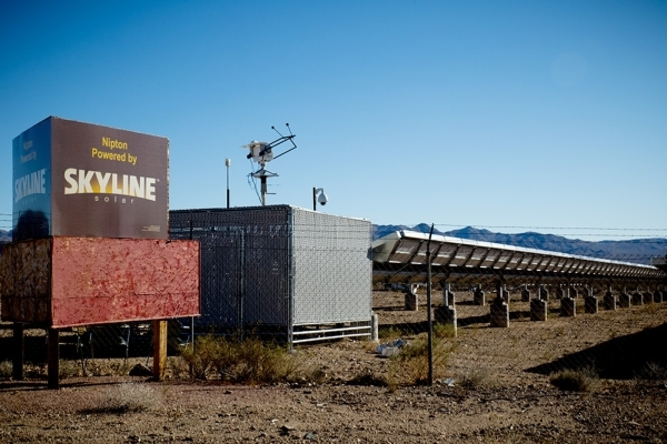 Gerald Freeman invested in a photovoltaic system to generate electricity. Its solar panels were placed on either side of the highway. TONYA HARVEY/REAL ESTATE MILLIONS