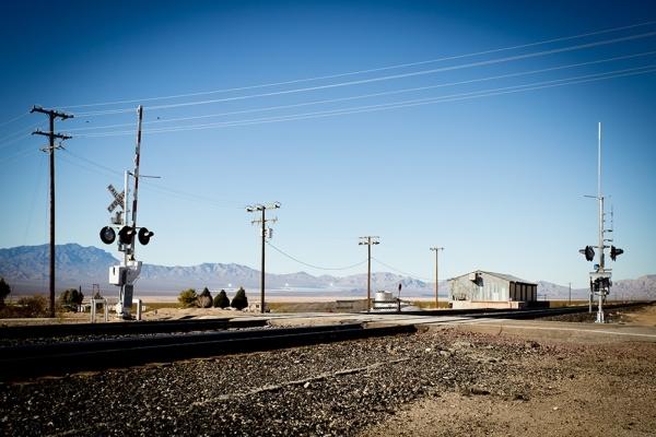Trains still run through Nipton. TONYA HARVEY/REAL ESTATE MILLIONS