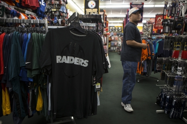 best service c928b 12c51 Raiders watchers greet Las Vegas news with a shrug | Las ...