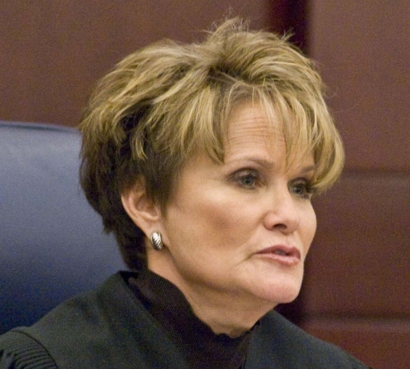Nevada Supreme Court Justice Nancy Saitta established a blue ribbon committee to examine shortcomings in Clark County's Child welfare system and courts. (File, Jerry Henkel/Las Vegas Review- ...