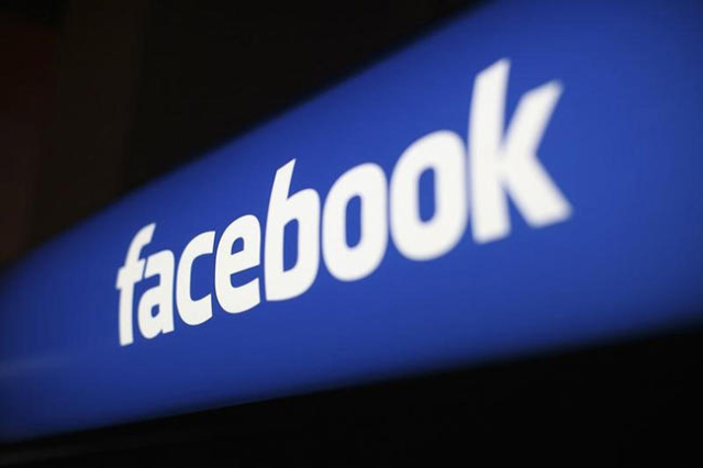 The Facebook logo is pictured at the Facebook headquarters in Menlo Park, California January 29, 2013. (Robert Galbraith/Reuters)