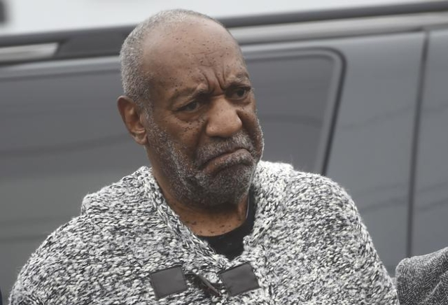 Actor and comedian Bill Cosby arrives for his arraignment on sexual assault charges at the Montgomery County Courthouse in Elkins Park, Pa., Dec. 30, 2015.  Cosby was charged with sexually assault ...