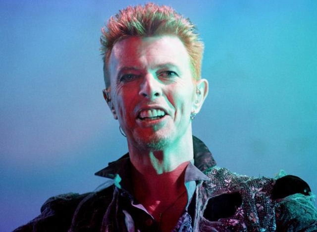 British rock-singer David Bowie performs during the first day of the Doctor Music Festival in a Pirineos little valley in Catalonia July 12, 1996 file photo. Singer Bowie has died after an 18-mont ...