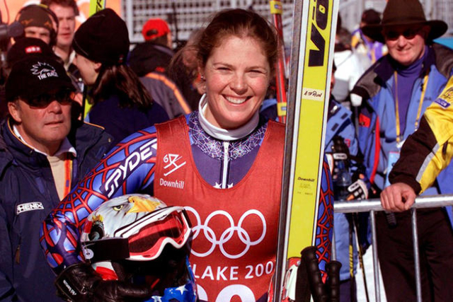 File picture of Picabo Street from February 2002. (Leonhard Foeger/Reuters)