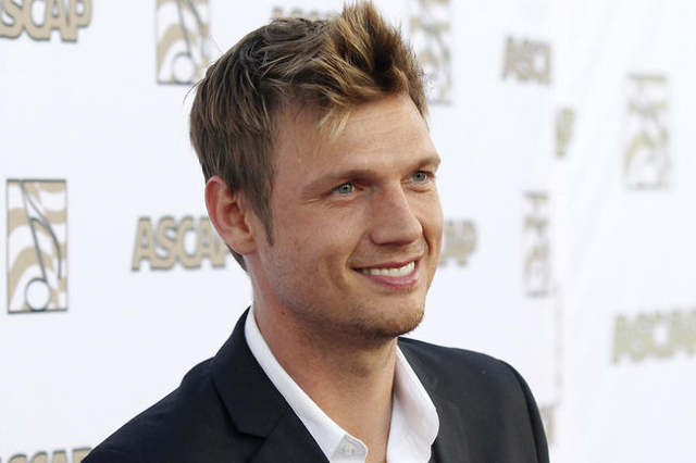 Nick Carter of the Backstreet Boys poses at 30th annual ASCAP Pop Music Awards in Hollywood, in this California April 17, 2013 file photo. Carter was being held January 14, 2016 in jail in Key Wes ...