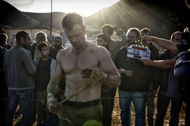 """""""Bourne"""" producer Frank Marshall shared this photo from the first day of principal photography. The next chapter in the Bourne series premieres July 2016.(Bourne/Facebook)"""