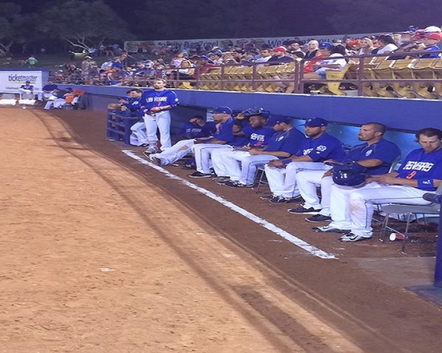 51s watch from field level. (51's Facebook)