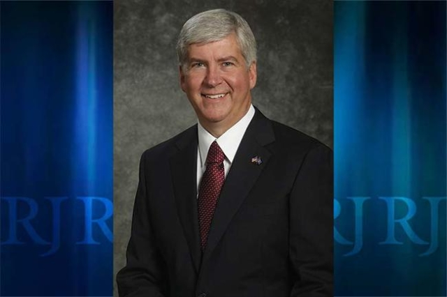 Michigan Governor Rick Snyder (CNN)