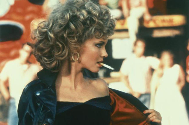 "Olivia Newton-John in the 1978 film ""Grease."" (Courtesy)"