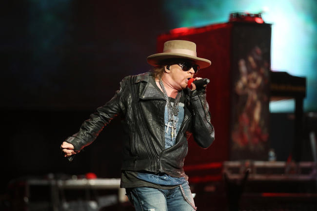 Axl Rose of Guns N' Roses performs live on stage at Allphones Arena on March 12, 2013 in Sydney, Australia. (Mark Metcalfe/Getty Images/Thinkstock)