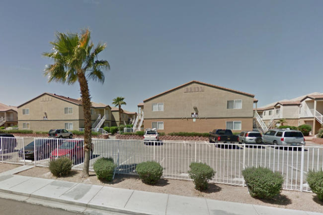 1669 Mary Jane Dr at Alpha Gardens Apartments in Las Vegas. (Google Street View)