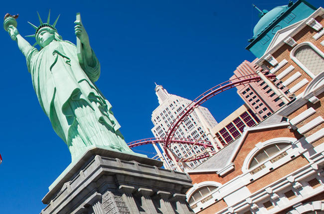 New York-New York hotel-casino (Las Vegas Review-Journal)
