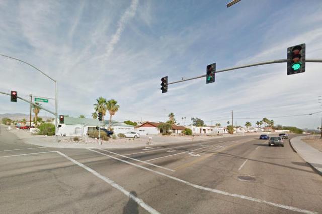 The interesection of Acoma Blvd. and Palo Verde Blvd. in Lake Havasu, Arizona. (Google Street View)