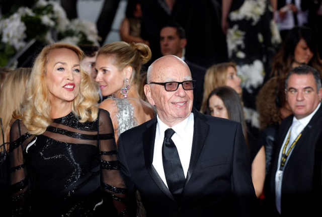 Rupert Murdoch Engaged To Mick Jagger S Ex Wife Jerry Hall