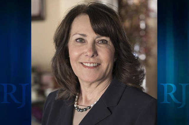 Jacky Rosen announced Tuesday she is running for the Democratic nomination for the 3rd Congressional District. (Courtesy/@RosenforNevada/Twitter)