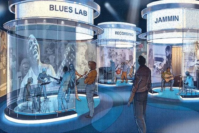 Backed by blues fans such as Buddy Guy and actor John Goodman, St. Louis' National Blues Museum will have a massive interactive exhibition space and a 100-seat theater.