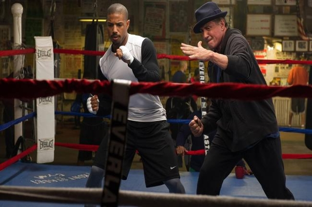 """Creed"" is the latest addition to the ""Rocky"" movie franchise, which began in 1976, well before the star of this new film was even born. (Warner Bros./CNN)"