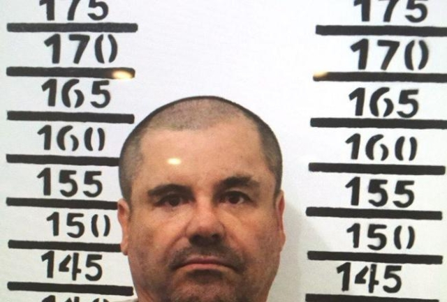 Mugshots of El Chapo after his arrest on January 8, 2016 by the Prison he escaped from in summer 2015. He is being held at the same prison he escaped from last year. (CNN)