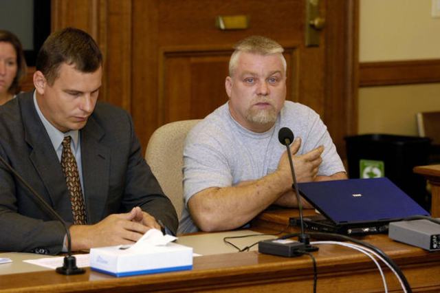 """The documentary """"Making of a Murderer"""" follows the case of Steven Avery, right, and his prosecution for the 2005 rape and murder of photographer Teresa Halbach. (CNN)"""