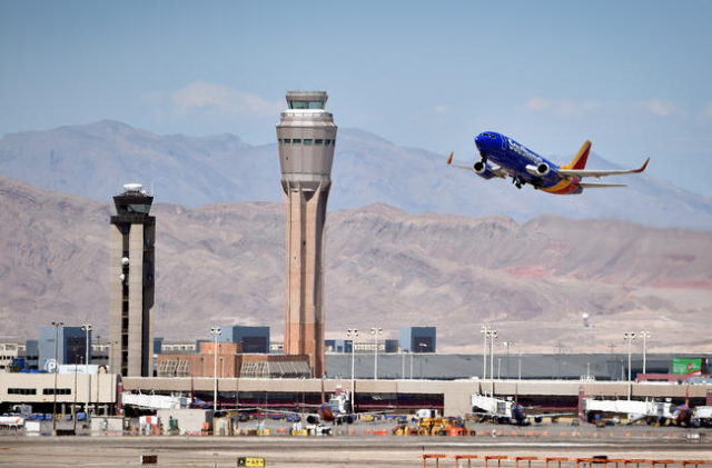 McCarran International Airport (Las Vegas Review-Journal)