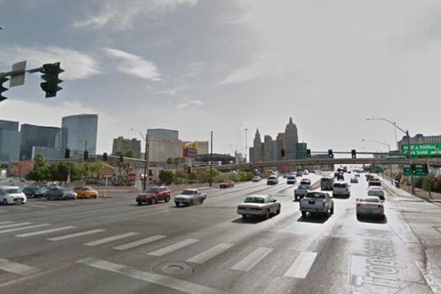 Tropicana Avenue and Dean Martin Drive. (Screengrab/Google Street View)