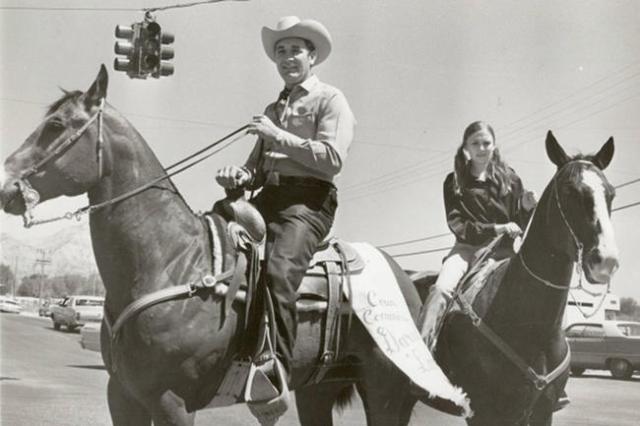Darwin Lamb on May 2, 1970. John Kosienski/Las Vegas Review Journal file.