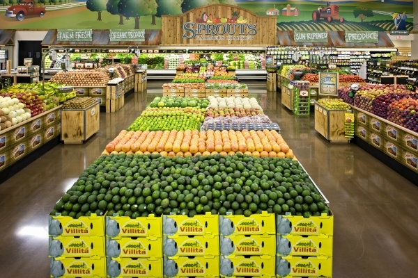 Sprouts Farmers Market has five locations in the Las Vegas Valley and will open a sixth in June. (Courtesy)