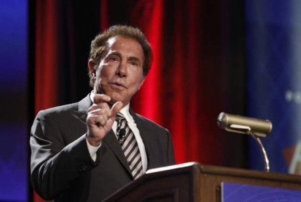 Steve Wynn, CEO of Wynn Resorts, speaks during Global Gaming Expo on Sept. 30, 2014. (Erik Verduzco/Las Vegas Review-Journal file photo)