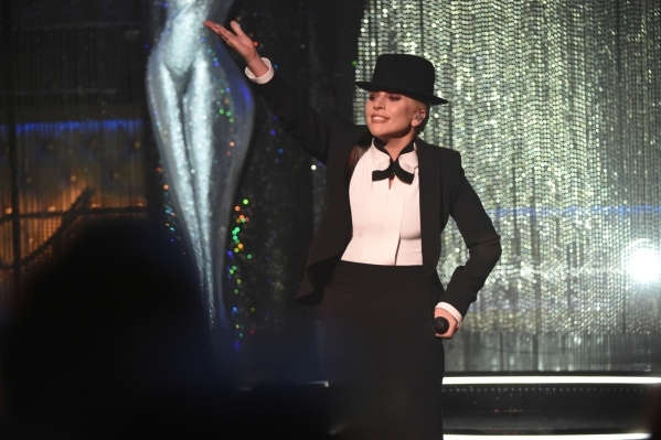 Lady Gaga performs at the SINATRA 100 þÄì AN ALL-STAR GRAMMY CONCERT in Las Vegas to be broadcast on Sunday, Dec. 6, 2015 for the CBS Television Network. Photo: Heather Wines/CBS ¬© ...