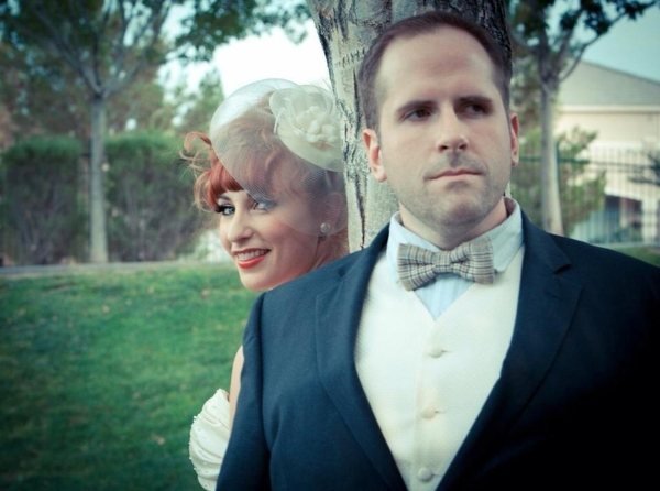Singer, dancer, actress Kady and director Troy Heard were married Oct. 22, 2012. Special to View