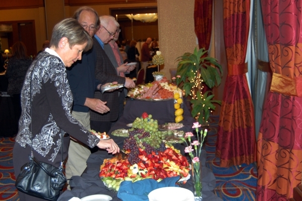 Attendees take part in HopeLink of Southern Nevada's inaugural Art With a Heart fundraiser last year at the Sun City Anthem Ballroom, 2450 Hampton Road. This year's event is set from 5 ...
