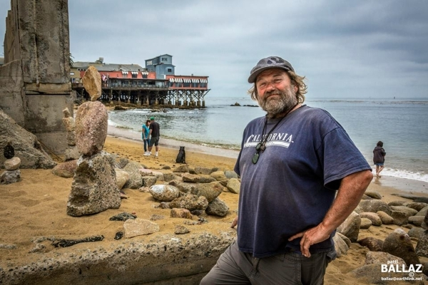 Monterey Roseman, aka Ron O' Brien, a homeless beachcomber living in Monterey, Calif., is among artists scheduled to take part in HopeLink of Southern Nevada's second annual Art With A ...